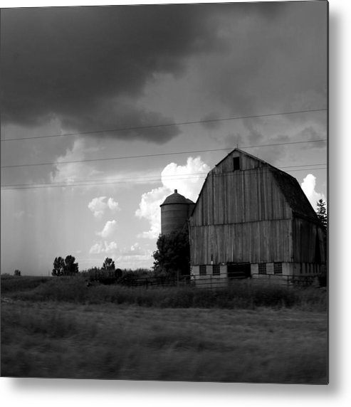 Barn Metal Print featuring the photograph 08016 by Jeffrey Freund