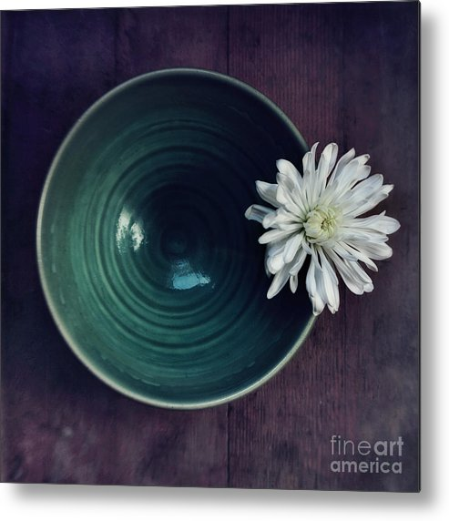 Simplicity Metal Print featuring the photograph Live Simply by Priska Wettstein