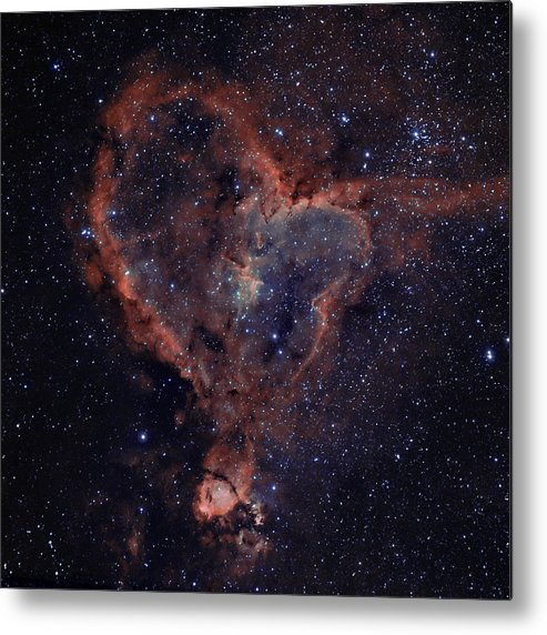 Astronomy Metal Print featuring the photograph The Heart by Charles Warren