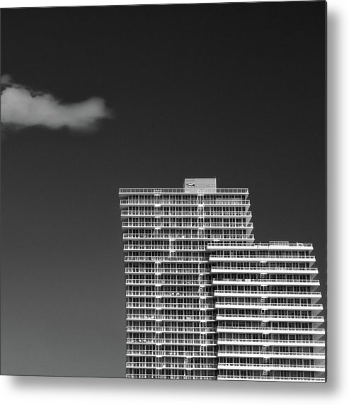 Architecture Metal Print featuring the photograph Three Steps To Heaven by Dave Bowman