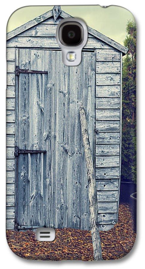 Garden Galaxy S4 Case featuring the photograph Garden Shed by Amanda Elwell