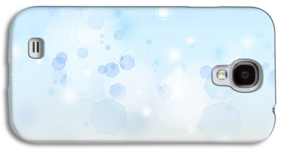 Abstract Galaxy S4 Case featuring the photograph Abstract Background by Les Cunliffe