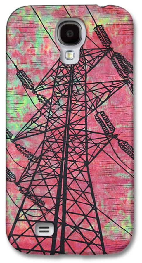 Power Galaxy S4 Case featuring the drawing Power by William Cauthern