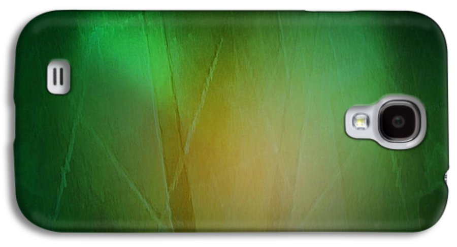 Abstract Galaxy S4 Case featuring the digital art Abstract 1005 by John Krakora