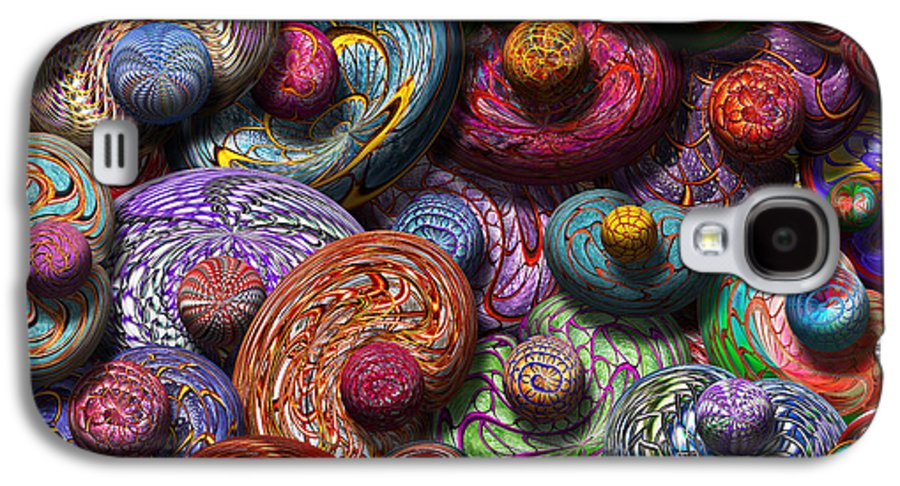 Abstract Galaxy S4 Case featuring the photograph Abstract - Beans by Mike Savad