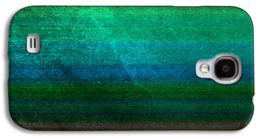 Abstract Galaxy S4 Case featuring the digital art Aurora by Peter Tellone