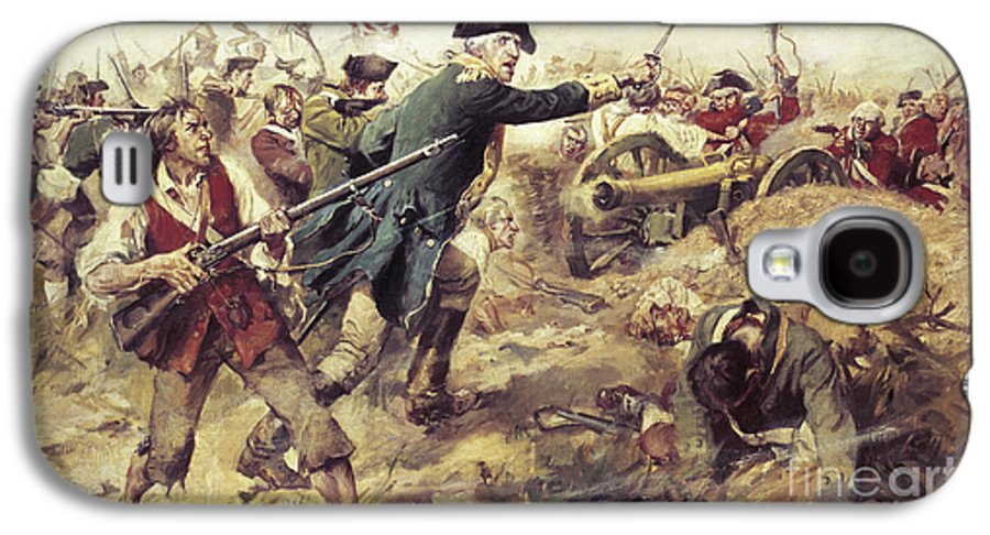 General John Stark Galaxy S4 Case featuring the painting Battle Of Bennington by Frederick Coffay Yohn