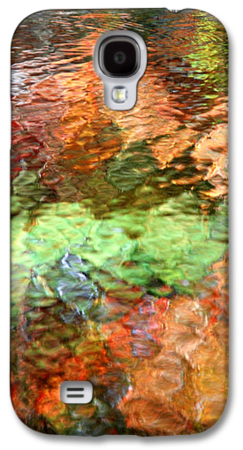 Abstract Galaxy S4 Case featuring the photograph Brilliance by Christina Rollo