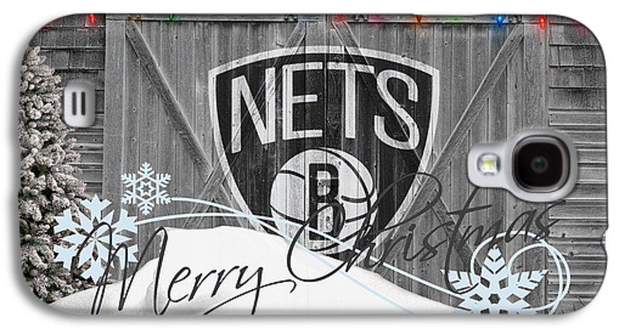 Nets Galaxy S4 Case featuring the photograph Brooklyn Nets by Joe Hamilton
