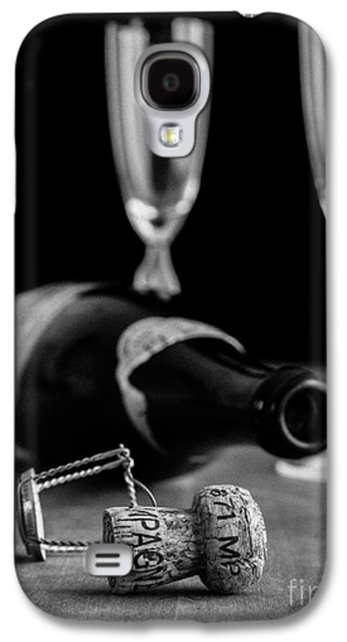 Champagne Galaxy S4 Case featuring the photograph Champagne Bottle Still Life by Edward Fielding