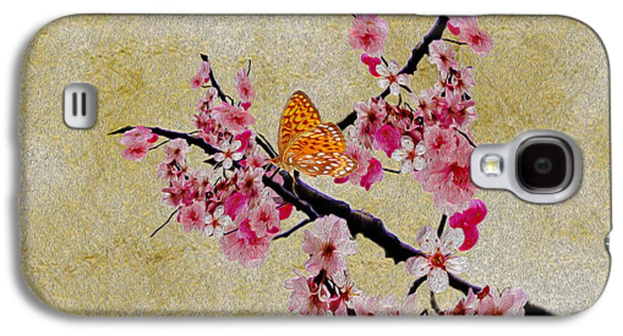 Cherry Galaxy S4 Case featuring the photograph Cherry Blossoms by Cheryl Young