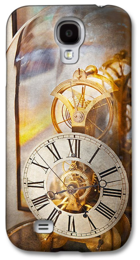 Clockmaker Galaxy S4 Case featuring the photograph Clockmaker - A Look Back In Time by Mike Savad