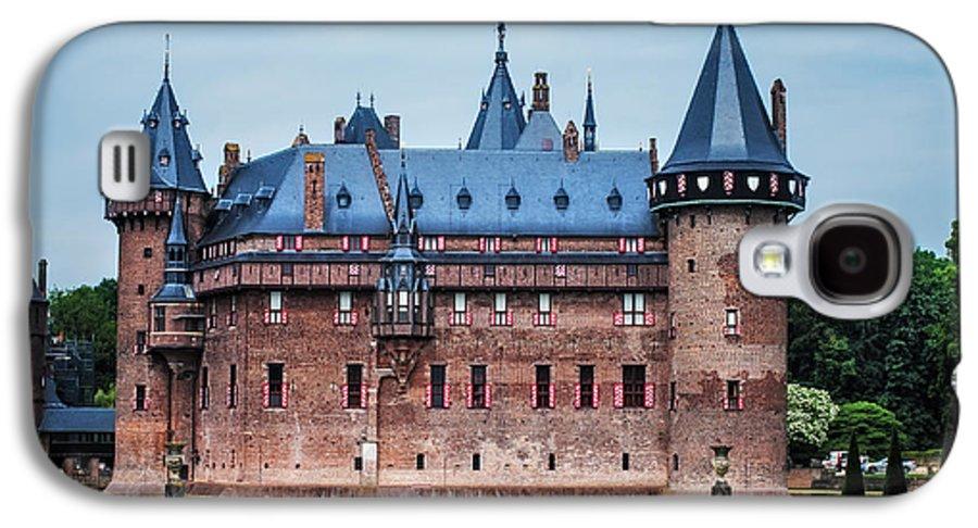 Utrecht Galaxy S4 Case featuring the photograph De Haar Castle. Utrecht. Netherlands by Jenny Rainbow