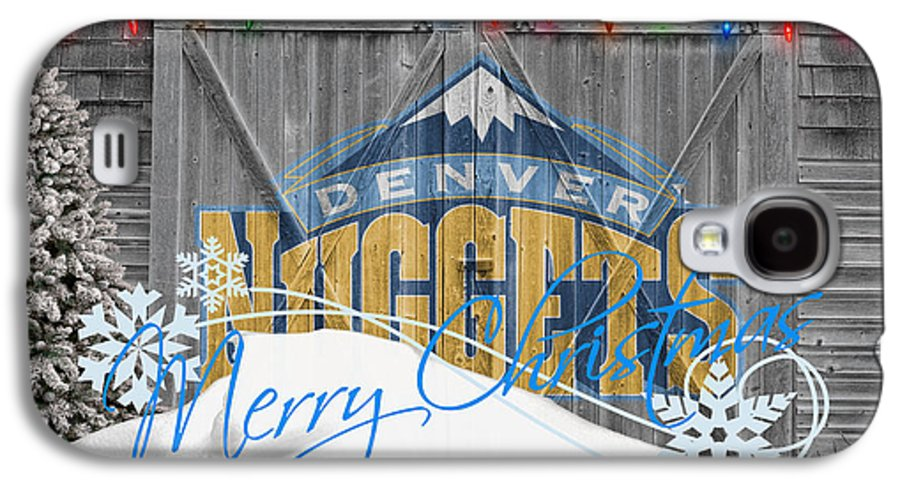 Nuggets Galaxy S4 Case featuring the photograph Denver Nuggets by Joe Hamilton