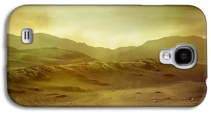Brett Galaxy S4 Case featuring the digital art Desert by Brett Pfister