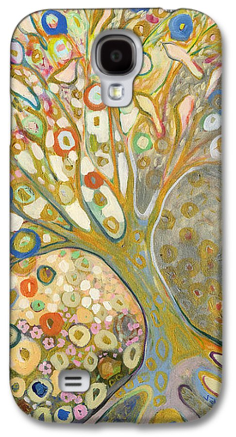 Tree Galaxy S4 Case featuring the painting From Out Of The Rubble Part B by Jennifer Lommers