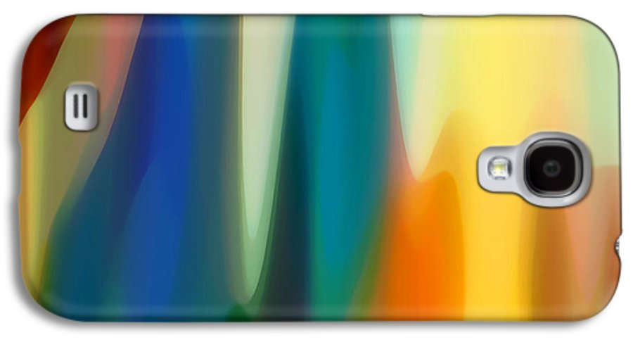 Bold Galaxy S4 Case featuring the painting Fury 6 by Amy Vangsgard