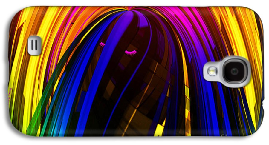 Hair Galaxy S4 Case featuring the photograph Hair by Cheryl Young