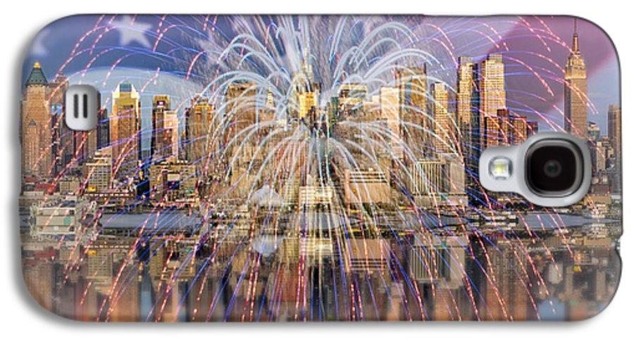 America Galaxy S4 Case featuring the photograph Happy Birthday America by Susan Candelario