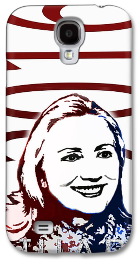 Hillary Galaxy S4 Case featuring the photograph Hillary 2016 by Jost Houk