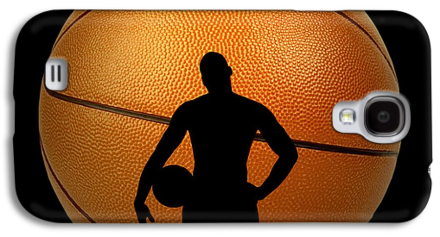 Hoop Galaxy S4 Case featuring the photograph Hoop Dreams by Cheryl Young