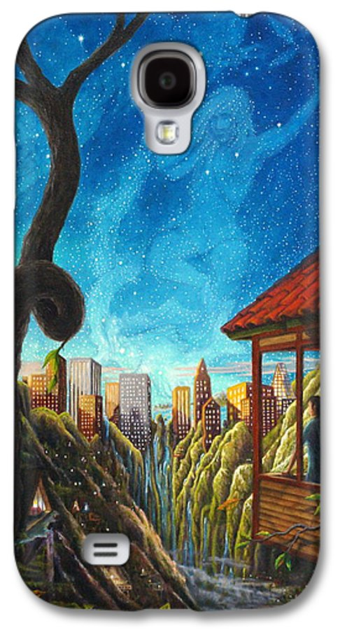 Hope Galaxy S4 Case featuring the painting Hope by Matt Konar