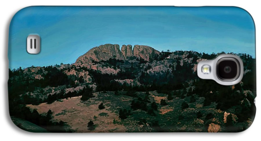 Moon Galaxy S4 Case featuring the photograph Hunter's Moon by Jon Burch Photography