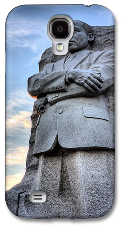 Martin Luther King Jr Memorial Galaxy S4 Case featuring the photograph I Have A Dream by JC Findley