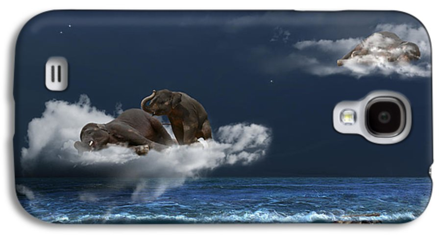 Elephant Galaxy S4 Case featuring the photograph Insomnia by Martine Roch