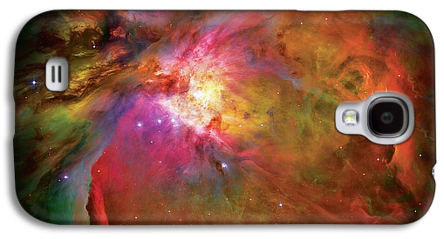 Orion Nebula Galaxy S4 Case featuring the photograph Into The Orion Nebula by The Vault - Jennifer Rondinelli Reilly