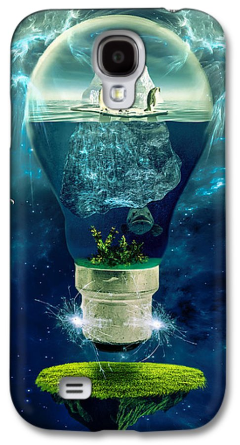Concept Galaxy S4 Case featuring the photograph It's The End Of The World As We Know It by Erik Brede