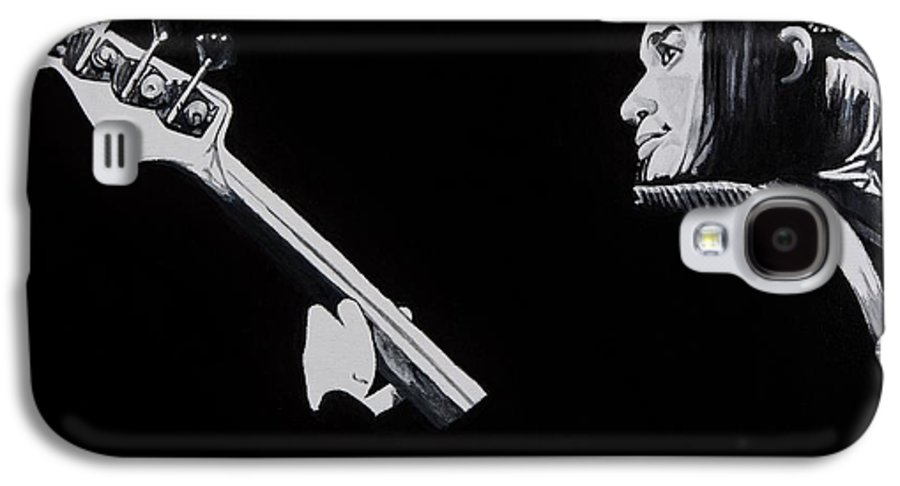 Jaco Galaxy S4 Case featuring the painting Jaco by Brian Broadway