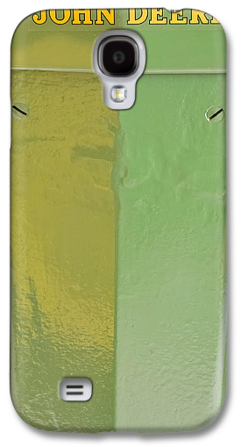 Diesel Galaxy S4 Case featuring the photograph John Deere Grill by Susan Candelario