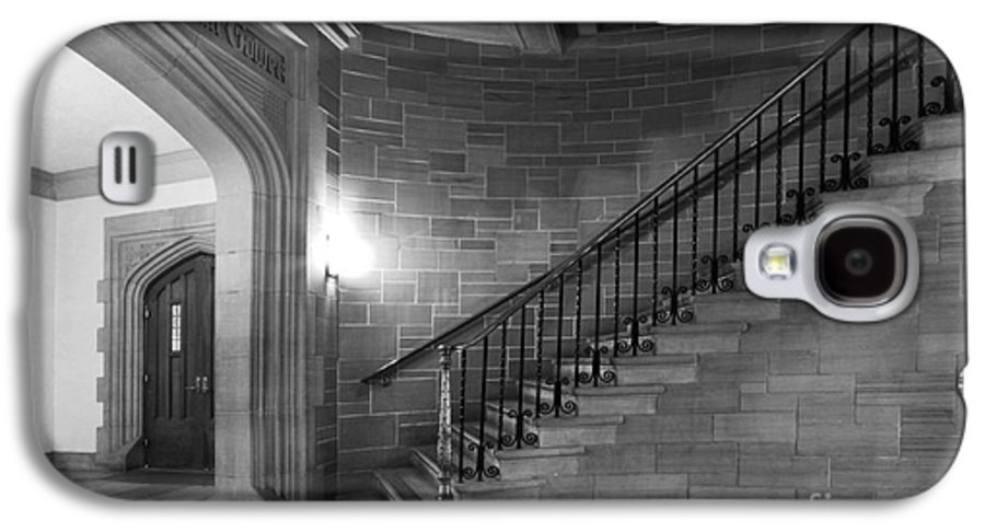 Annapolis Group Galaxy S4 Case featuring the photograph Kenyon College Peirce Stairway by University Icons