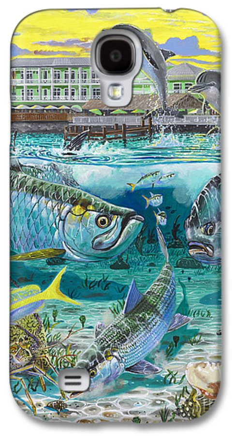 Grand Slam Galaxy S4 Case featuring the painting Key Largo Grand Slam by Carey Chen