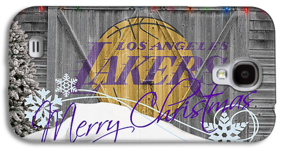Lakers Galaxy S4 Case featuring the photograph Los Angeles Lakers by Joe Hamilton
