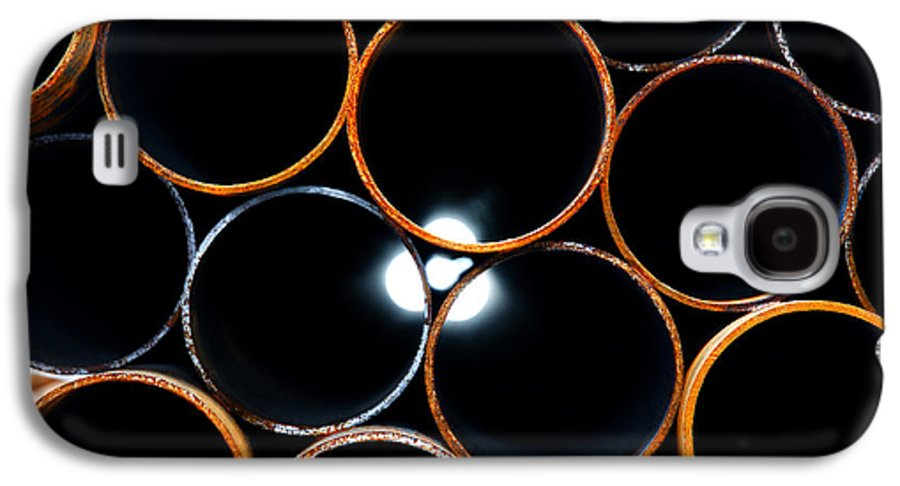Metal Galaxy S4 Case featuring the photograph Metal Pipes by Fabrizio Troiani