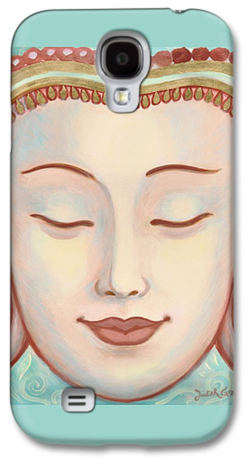 Moments Of Bliss Galaxy S4 Case featuring the painting Moments Of Bliss by Judith Grzimek