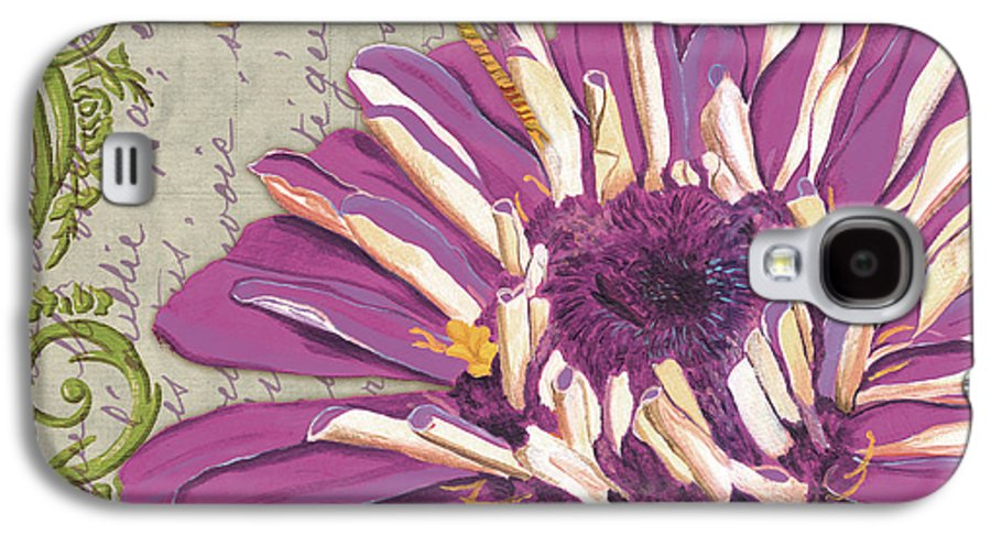 Floral Galaxy S4 Case featuring the painting Moulin Floral 2 by Debbie DeWitt