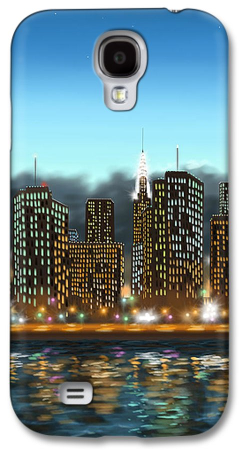 Digital Galaxy S4 Case featuring the painting My Dream by Veronica Minozzi