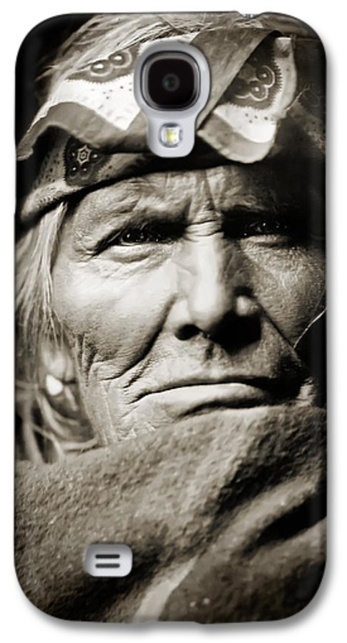 Edward Curtis Galaxy S4 Case featuring the photograph Native American Zuni - Si Wa Wata Wa by The Vault - Jennifer Rondinelli Reilly