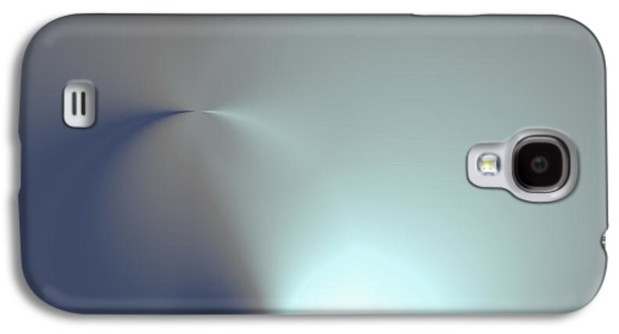 Abstract Galaxy S4 Case featuring the digital art Oveta 3113 Hd by Heath Rezabek