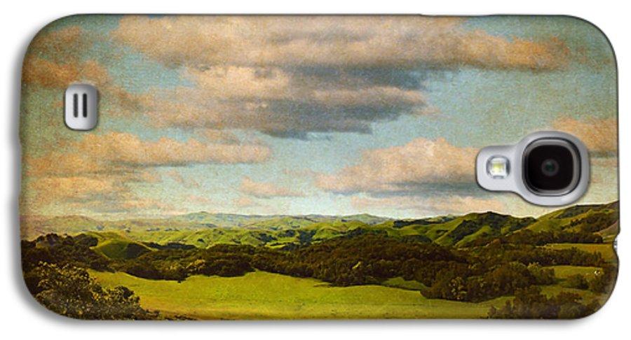 Brett Galaxy S4 Case featuring the digital art Perfect Valley by Brett Pfister