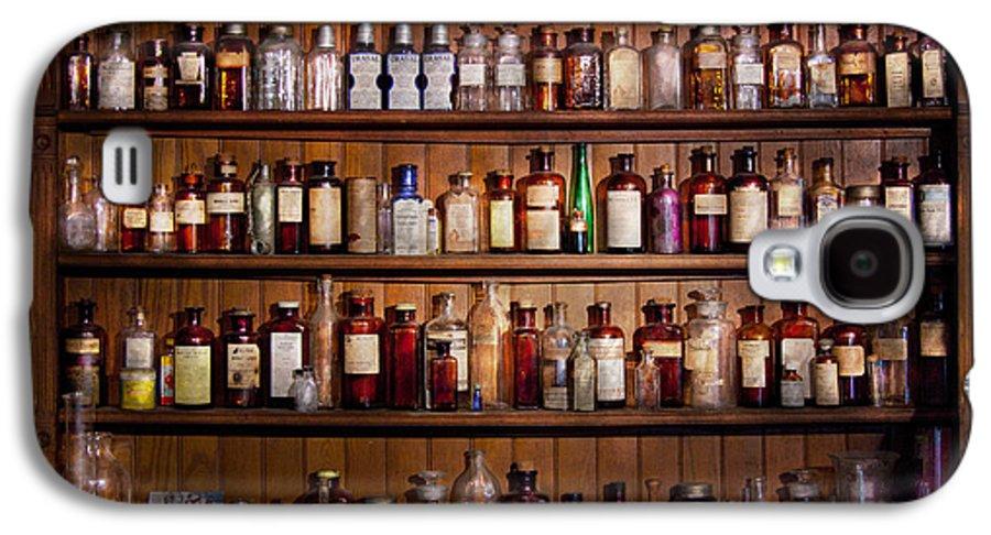 Pharmacy Galaxy S4 Case featuring the photograph Pharmacy - Pharma-palooza by Mike Savad