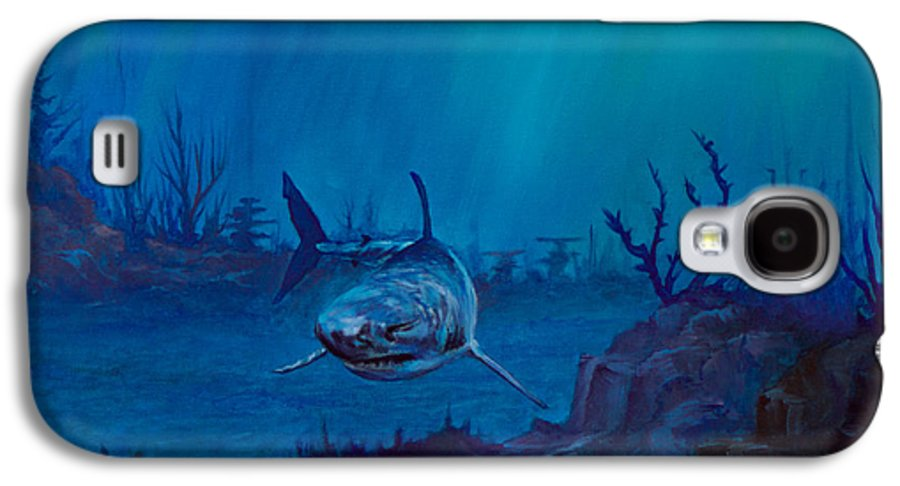 Ocean Galaxy S4 Case featuring the painting Primal Beauty by C Steele
