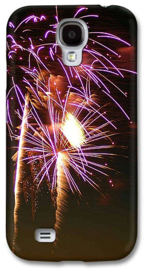 Fireworks Galaxy S4 Case featuring the photograph Purple Trees by Optical Playground By MP Ray