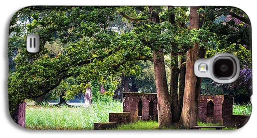 Utrecht Galaxy S4 Case featuring the photograph Quiet Park Corner. De Haar Castle by Jenny Rainbow
