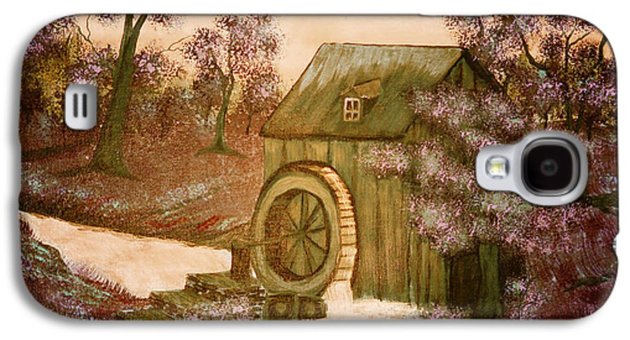 Ross's Watermill Galaxy S4 Case featuring the painting Ross's Watermill by Barbara Griffin