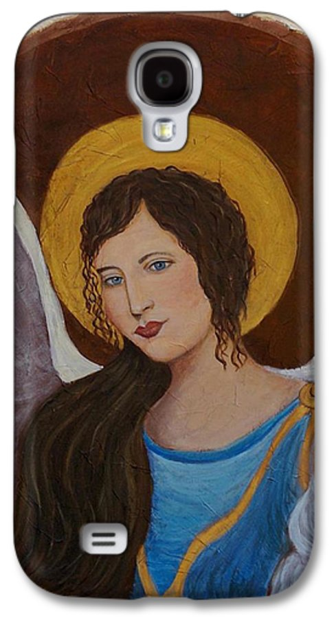 Angel Galaxy S4 Case featuring the painting Samantha An Earthangel by The Art With A Heart By Charlotte Phillips