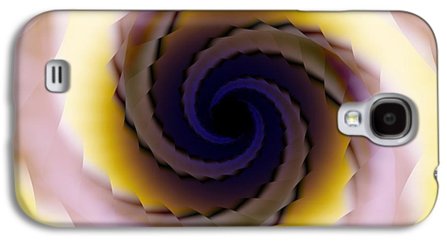 Spiral Galaxy S4 Case featuring the digital art Spiral by Elizabeth McTaggart
